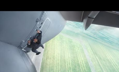 Mission Impossible Rogue Nation Trailer: Tom Cruise Gets Shirtless, Hangs Off of Plane, Etc.