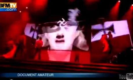 Madonna Flashes Swastika, Creates Controversy in Tel Aviv