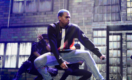 Chris Brown Tour Photo