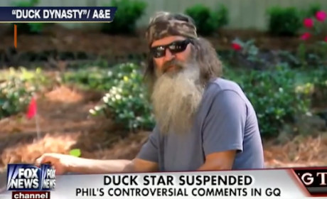Phil Robertson: Suspended From Duck Dynasty For Anti-Gay Comments
