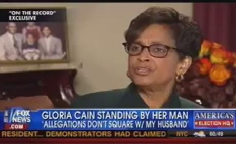 Gloria Cain, Wife of Herman Cain, Defends Candidate From Sexual Harassment Claims