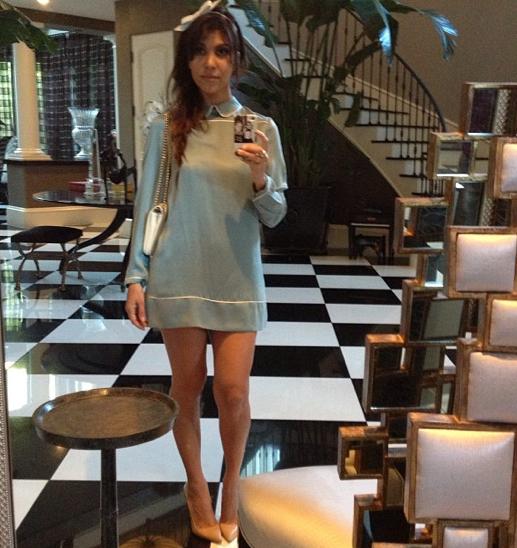 Kourtney Kardashian, Long Legs