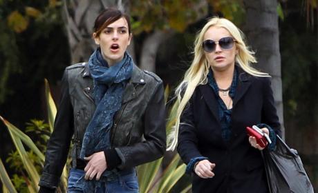 Report: Lindsay Lohan Pregnant!