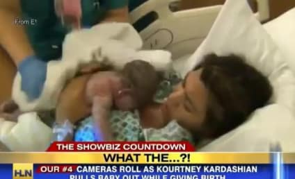 Kourtney Kardashian Giving Birth on TV: Right or Wrong?