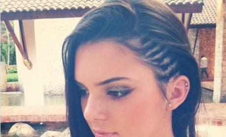Kendall Jenner Braids Photo