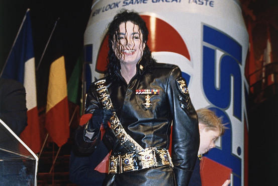 Celebrity dress up michael jackson