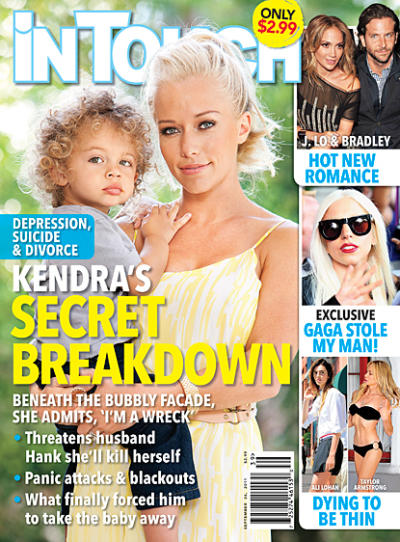 Kendra Wilkinson Tabloid Cover