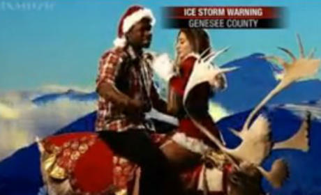 Saturday Night Live Presents: Waking Up with Kimye, Christmas Edition!