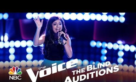 Bryana Salaz - Problem (The Voice Audition)