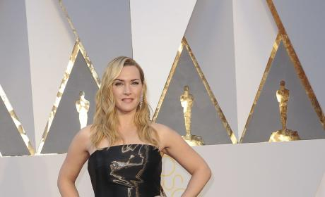 Kate Winslet: 2016 Academy Awards