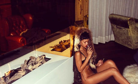 Rihanna No Pants Photo