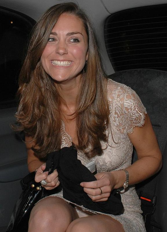 Kate Middleton Partying Photo