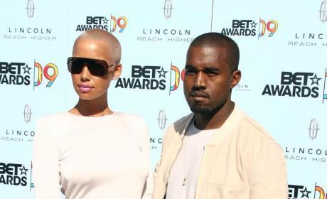Amber Rose and Kanye Pic