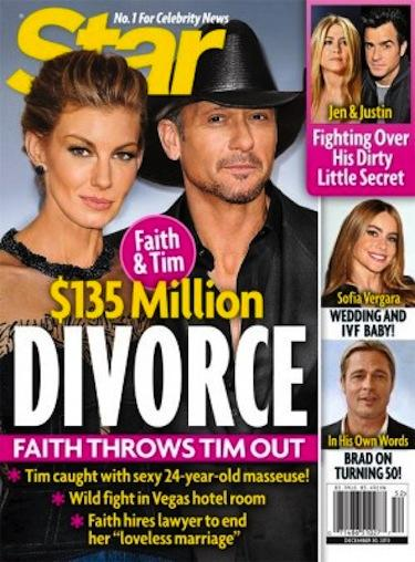 faith hilltim mcgraw divorce rumor 135 million breakup