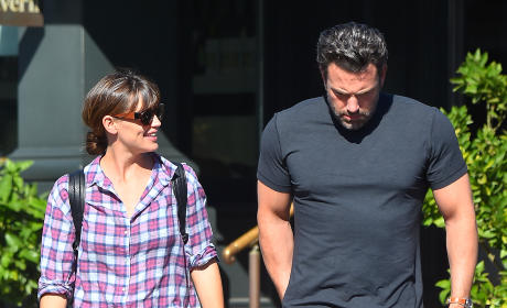 Ben Affleck: Moving Out on Jennifer Garner?