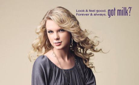 Taylor Swift Asks: Got Milk?