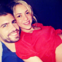Shakira and Gerard Pique Photo