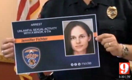 Jennifer Christine Fichter Arrested