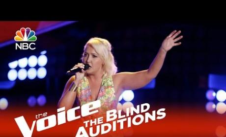 Meghan Linsey on The Voice