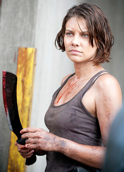 Lauren Cohan, Now...
