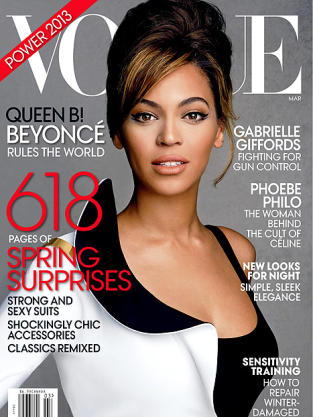 Beyonce Vogue Cover