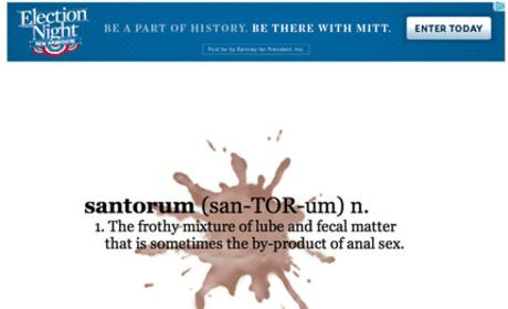 Spreading Santorum: Paid For By Mitt Romney!