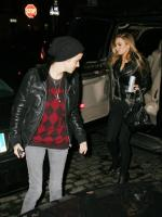 Lindsay Lohan and Samantha Ronson at Beatrice Inn