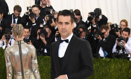 Colin Farrell: 2016 Costume Institute Gala