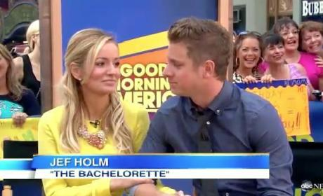 Emily Maynard and Jef Holm on Good Morning America: We Are SO Happy!