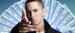 "Eminem Raps About Punching Lana Del Rey ""Like Ray Rice"""