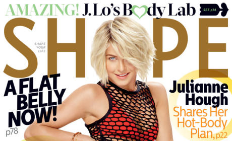 Julianne Hough Shape Photo