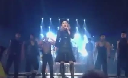 Madonna Booed For Obama Endorsement in Concert