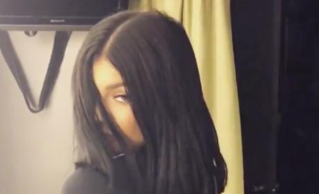 "Kylie Jenner Debuts ""Dope"" New Haircut"