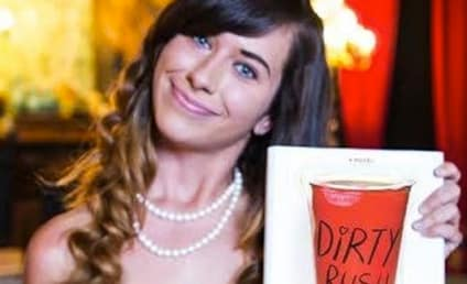 Rebecca Martinson, Insane Sorority Email Girl, Returns in F-Bomb Filled Book!