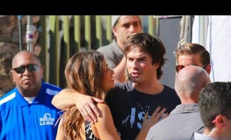 Ian Somerhalder and Nikki Reed: PDA Alert at Teen Choice Awards!
