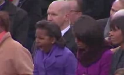Sasha Obama Yawn Highlights Inauguration Day
