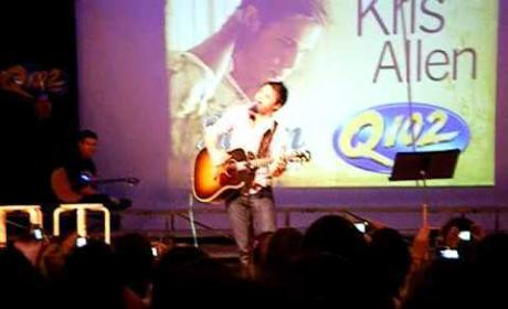 Kris Allen Does Britney Spears