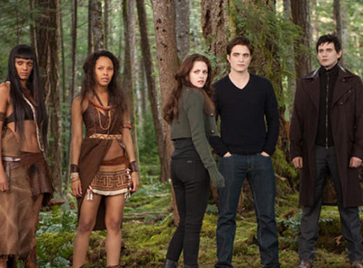 Edward, Bella and Friends