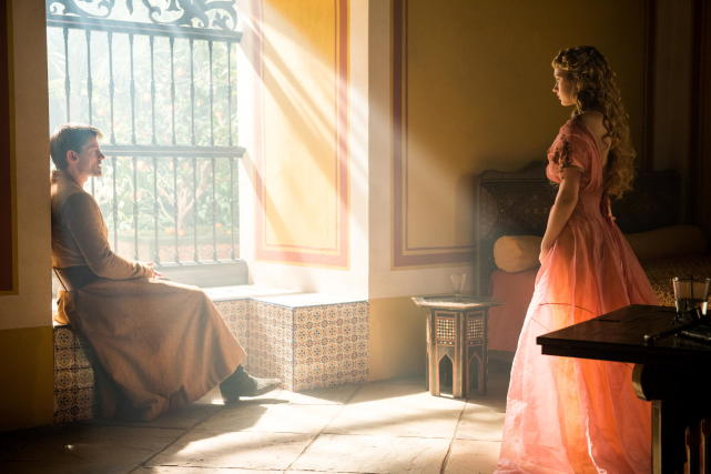Jaime and myrcella have a chat