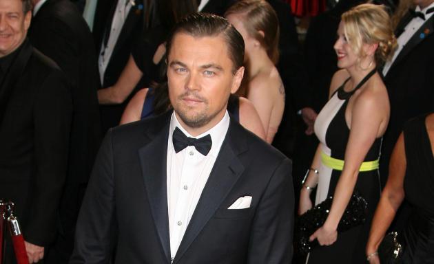 Leonardo DiCaprio at the Oscars