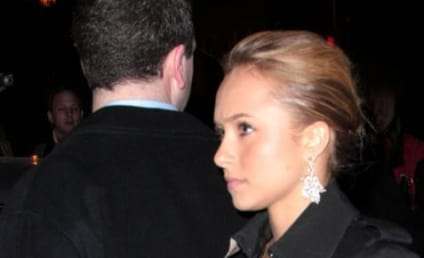 Hayden Panettiere Gets Tagged, Upsets the Folks