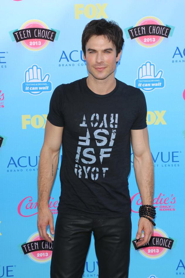 Ian Somerhalder at 2013 Teen Choice Awards
