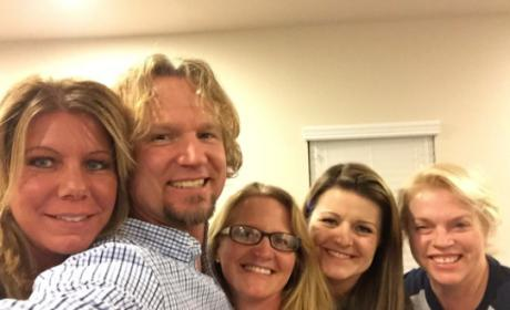 "Christine Brown: Sister Wives Star ""Miserable"" With Kody, Polygamy!!!"