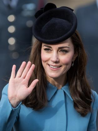 Kate Middleton: Up-Close at the 75th Anniversary Of The Formation Of The Air Training Corps
