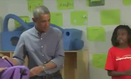Student Gets Surprise Visit from President Obama, Sort of Wishes He Were Beyonce