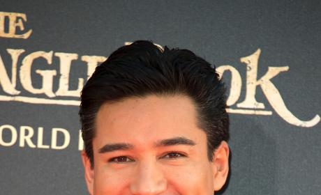 Mario Lopez: 'The Jungle Book' Premiere