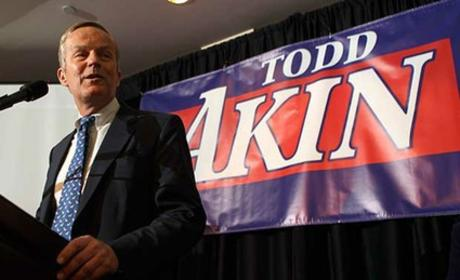 "Todd Akin Apologizes for ""Legitimate Rape"" Comment"