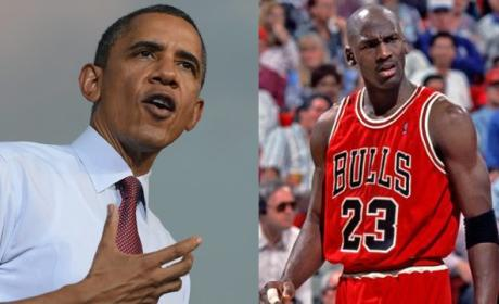 Barack Obama to Michael Jordan: Quit Hatin'!