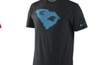 Nike T-Shirts: Someone Failed U.S. Geography!
