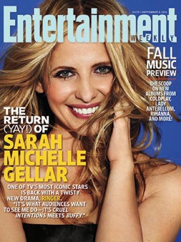Sarah Michelle Gellar EW Cover